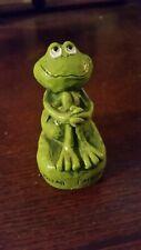 Vintage 1977 Gibson Greetings Frog Figurine
