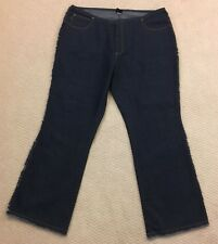 FUBU Blue Jeans Woman's Size 18 Stretch (Measure 40x33)