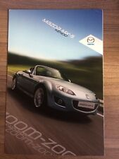 MAZDA MX-5 KENDO SPECIAL EDITION 2011 RANGE CAR BROCHURE ROADSTER COUPE MX5