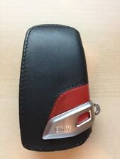 BMW 3 Series Genuine Factory OEM Accessory Key Case - Sport Line with Red Accent