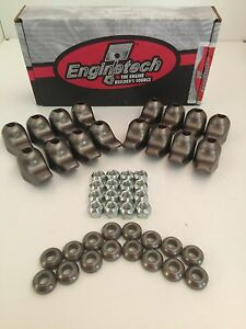 SBC Rocker Arm Kit Set of 16 265 283 327 350 400 57-87 Stock Specs