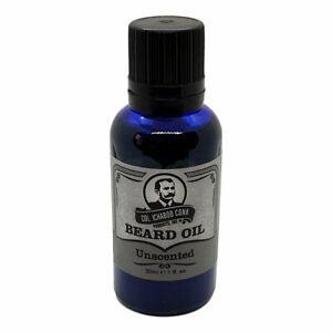 Unscented Premium Beard Oil - Scent Free for Sensitive Skin - Colonel Conk USA