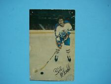 EARLY 1980`S NHL HOCKEY POSTCARD PHOTO BLAIR MCDONALD FACSIMILE AUTO AUTOGRAPH