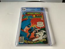 BRAVE AND THE BOLD 141 CGC 9.6 WHITE PAGES JOKER BLACK CANARY DC COMICS 1978
