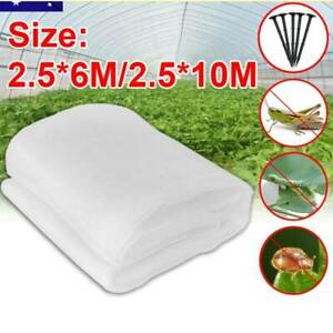 6/10M Garden Netting Crops Plant Protect Mesh Bird Net Insect Animal Vegetable