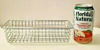Small Wire Storage Baskets for Crafts Flatware Office Supplies & More 9 x 3 x 2