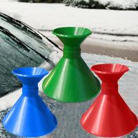 Cone Shaped Outdoor Funnel Remover Snow Car Windshield Magic Ice Scraper Tool