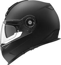 SCHUBERTH Helm S2 SPORT schwarz matt Integral Motorrad mit Sonnenblende Pinlock