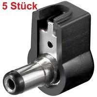 DC Strom Stecker Stromstecker für Netzteile zum Löten Lötversion 2,1mm x 5,5mm