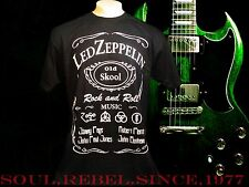 LED ZEPPELIN PUNK ROCK ALTERNATIVE  MEN'S SIZES T SHIRT