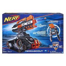 NERF N-Strike Elite Terrascout's Remote Control Drone Blaster R/C Dart NEW