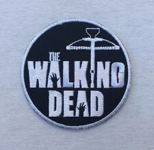 Zombie Sniper Patch Embroidered Iron On Sew On Walking Dead Horror Halloween