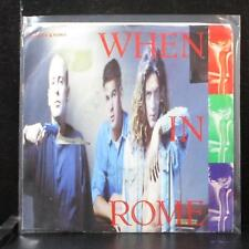 "When In Rome - Heaven Knows 7"" VG+ Vinyl 45 Virgin 7-99253 USA 1988"