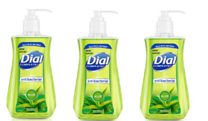 NEW PACK of (3) Dial Complete Antibac Liquid Hand Soap ALOE (3) 7.5 oz Bottles