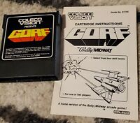 Gorf (Colecovision) Game & Manual