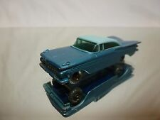 LESNEY 57  CHEVROLET IMPALA - BLUE 1:60? - GOOD CONDITION