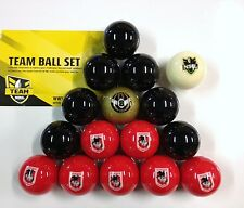 OFFICIAL NRL RUGBY LEAGUE FOOTBALL FOOTY ST. GEORGE DRAGONS POOL BALLS Full Set