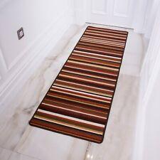 Terracotta Anti Skid Cheap Machine Washable Dryable Hall Hallway Runner Rugs Mat