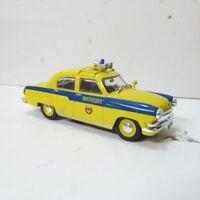 Ist Models 1:43 GA3-21r GAI Wolga Ukraine MILIZIA Polizei Top, neuwertig in OVP