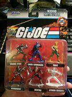 G.I. Joe Jada Nano Metalfigs 6 Figure Set Pack