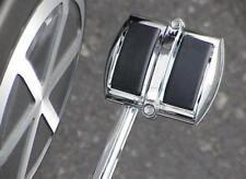 Harley Davidson Sportster Dyna Wide Glide V-Rod CHROME BRAKE PEDAL COVER