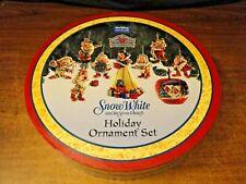 Disney Traditions Snow White & Seven Dwarfs Holiday Ornament Set, Jim Shore