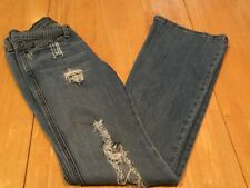 Womens/Juniors MACHINE POUR NEUF MODE Distressed Jeans - Size 3 - Super Cute!