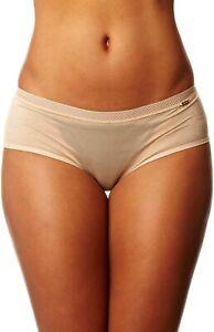 Gossard Glossies Short Brief Knickers, Nude, Size XL