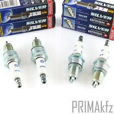 4x Brisk Silver DR15YS-9 1462 Plugs Petrol LPG CNG Audi Ford Honda Mazda