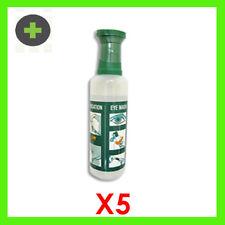 Eye Wash Saline 100ml x5 with Eye Bath