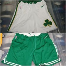 NBA Nike Boston Celtics Official Courtside Collection Shorts Authentic White