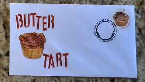 2019 Canada Post Butter Tart FDC First Day Cover Laser Cachet