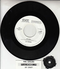 "LIL' ROMEO (MILLER) My Baby & The Girlies 7"" 45 rpm record + juke box strip RARE"