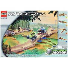 LEGO SET 4588 - OFF ROAD RACE TRACK & PULLBACK RACERS (RARE), Complete with box