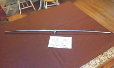 jaguar XJS 1987 left top rail trim chrome