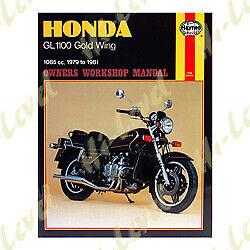 HONDA GL1100 HAYNES WORKSHOP MANUAL NEW IN ENGLISH