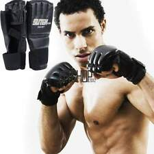 MMA UFC Sparring Grappling Boxing Fight Punch Ultimate Mitts Leather Glove KECP