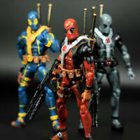 3 Color Super Legends Deadpool 6 Inch Action Figure Toy Biz Series Custom