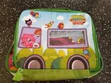 *New Bnwt* Vivid Moshi Monsters Moshlings Moshi Party Bus Storage Bag Case - 4+