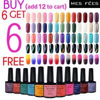 MES FEES UV LED Soak Off Nail Gel Polish Professional Nail Salon 140+ Colors