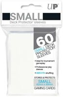Ultra PRO Small Deck Protector Sleeves Card Size WHITE 60ct 62 x 89mm