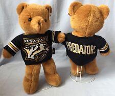 """NASHVILLE PREDATORS NHL 14"""" PLUSH BEAR SWEATER JERSEY W/ STAND FREE SHIPPING"""
