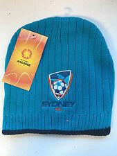 Official A League Soccer Sydney FC Rib Knit Beanie Style 2