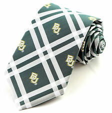 dcd0738a5ee0 Baylor Bears Mens Necktie University College Green Rhodes Neck Tie