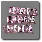 ZAFIRO rosa. 0.10 cts. 2,40 MM. IF VVS1 vendido por unidades Ceilán,Sri Lanka