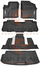 2018 2019 Traverse Front & 2nd & 3rd Row All Weather Floor Liners & Cargo Mat