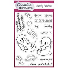 Creative Stamps A6 Stamp Set Otterly Fabulous | Set of 16