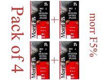 4 Pack Morr-F 5% Minoxidil Hair Regrowth FDA Approved DHT Blocker -(60 ml)