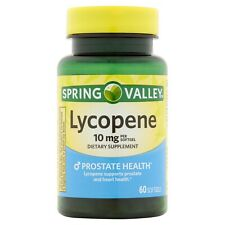 New Spring Valley Lycopene Softgels 10 Mg 60 Ct