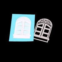 Stanzschablone 3D Fenster Weihnachts Hochzeit Oster Geburstag Album Karte Deko